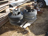 (2) Pallets Of Dolly Axle Extensions & Misc