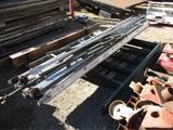 Lot Of Scaffolding W/(2) Scaf-A-Decks