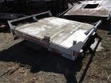 5th Wheel 6' x 6' Water Tank Trailer Attachment,