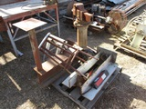 Lot Of Columbian Vice, Pintle Hitch & Misc Metal