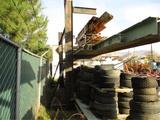 3-Section Heavy Duty Metal Beam Rack,