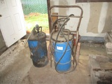Lot Of (2) Grease Pump Dolly's