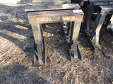 Lot Of (10) Metal Housing Stands