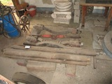 Lot Of Wheel Hub Dolly Parts & Drive Lines