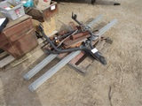 Lot Of (2) Trailer Tongues, Pintle Hitch,