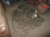Lot Of Hydraulic Hose & Electrical Cords