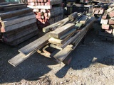 Lot Of Misc Treat Wood,