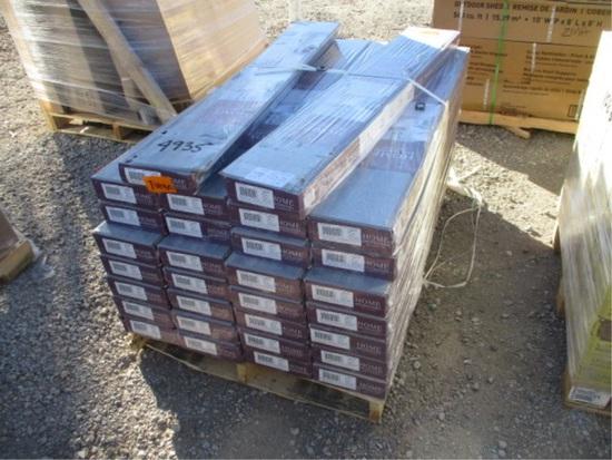 Lot Of (30) Boxes 23.69 Sq Ft Laminate Flooring,