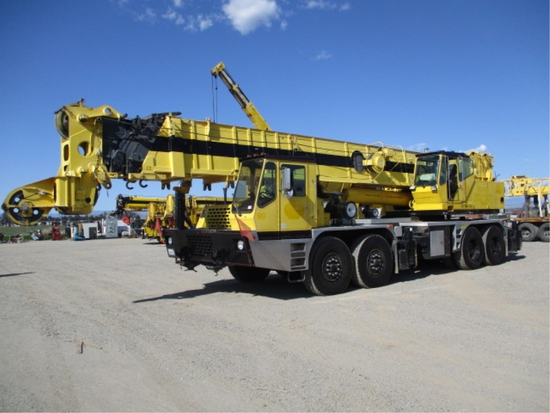 Grove TM9120 Hydraulic Crane Truck,