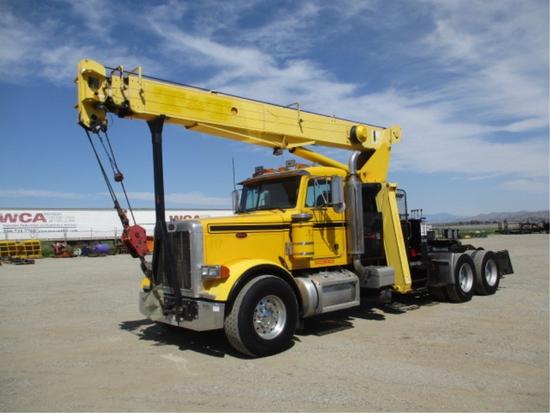 2004 Peterbilt 379 T/A Crane Truck Tractor,