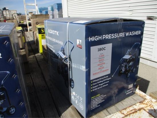 2021 Agrotk 180C Pressure Washer,