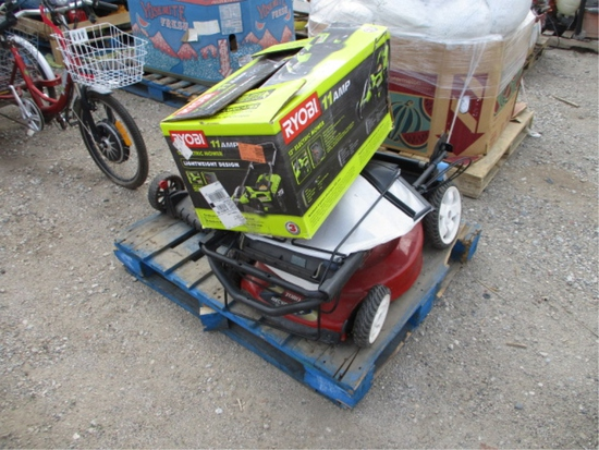 Lot Of (3) Lawn Mowers,