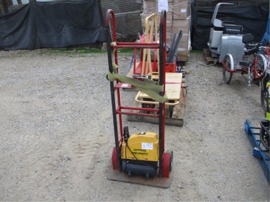 Furniture Dolly & Central Pneumatic Air Compressor