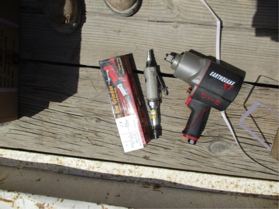"""Earthquake XT 3/4"""" Impact Gun,"""