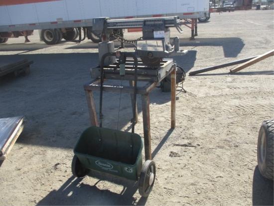 Power Kraft TPC-2610B Radial Arm Saw,