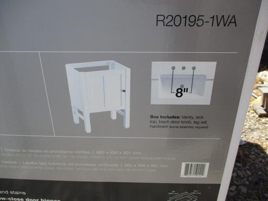 """Lot Of (2) Kohler 24"""" Bathroom Sink Cabinets,"""