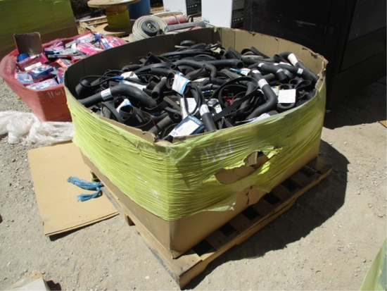 Lot Of Misc Size Timing Belts & Radiator Hoses