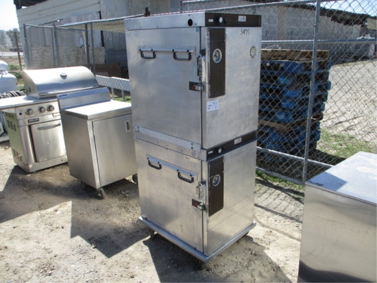 Service Solutions Rolling Hot Food Cabinet
