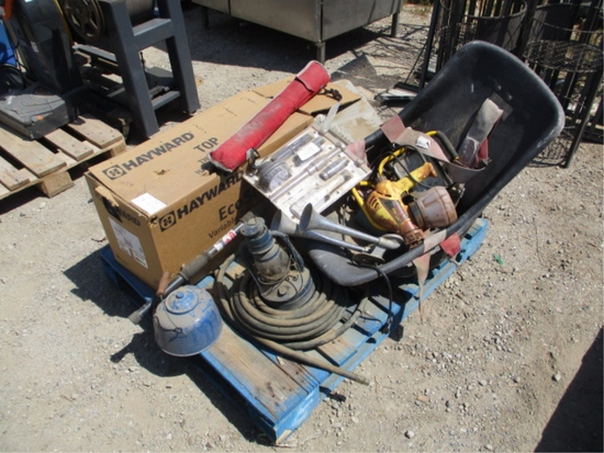 Lot Of Hayward Variable Speed Pump, (2) Chairs,