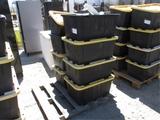 (8) Plastic Storage Bins W/Misc Items,