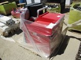 Lot Of Sunex Tool Boxes & Charboil BBQ Grill