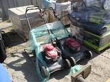 Lot Of (2) Honda Lawn Mowers