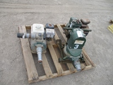Lot Of (2) Gas Powered Water Pumps