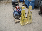 Lot Of (2) Moving Dollies, HD Straps,