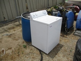 Washer & 55 Gallon Poly Drum