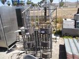 Lot Of (3) Metal Racks,
