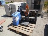 Pallet Of Belt Sander, Vacuum & Rug Doctor Cleaner