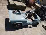 Gas Powered Go Cart,