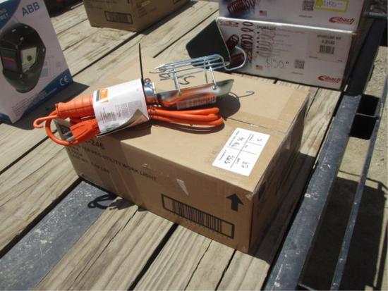 Lot Of (6) 75 Watt Pro Utility Work Lights,