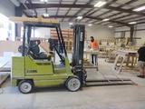Clark GCX25 Warehouse Forklift,