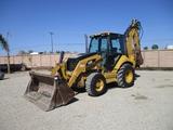 2012 Caterpillar 450E Loader Backhoe,