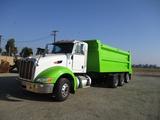 2014 Peterbilt 386 Super-Tag Dump Truck,