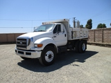2009 Ford F750 S/A Dump Truck,