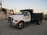 2005 Ford F650 S/A Dump Truck,