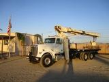 2000 Freightliner FLD120 T/A Crane Truck,