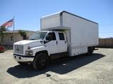 2006 GMC C7500 Crew-Cab S/A Box Truck,