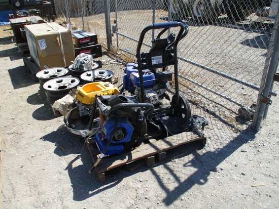 Lot Of (4) Misc Pressure Washers,