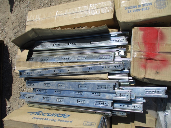 Pallet Of Accuride Industrial Drawer Brackets,