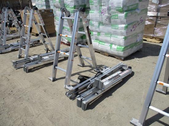 Lot Of (3) Unused Murphy Ladders