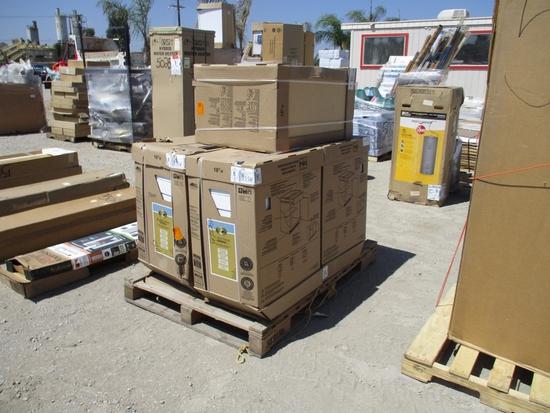 Lot Of Hampton Bay Base Shaker Cabinets,