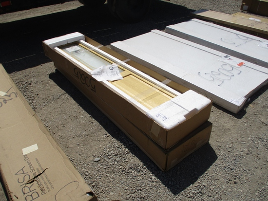 Lot Of Pinecroft Bi-Fold Glass Doors