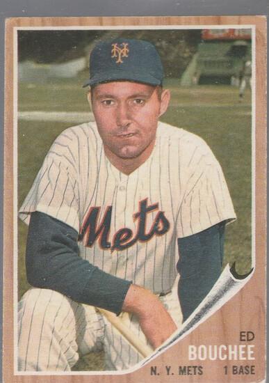 ED BOUCHEE 1962 TOPPS CARD #497