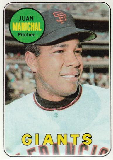 JUAN MARICHAL 1969 TOPPS CARD #370