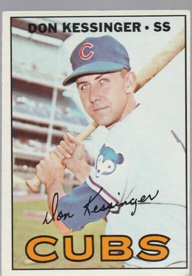 DON KESSINGER 1967 TOPPS CARD #419
