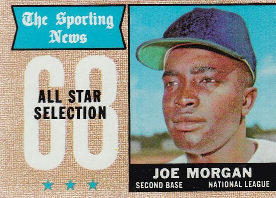JOE MORGAN 1968 TOPPS CARD #364