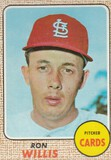 RON WILLIS 1968 TOPPS CARD #68